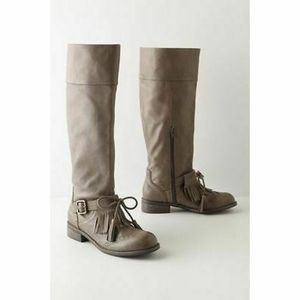 Anthro Lucky Penny Dawn Tassel Oxford Boots 10.5